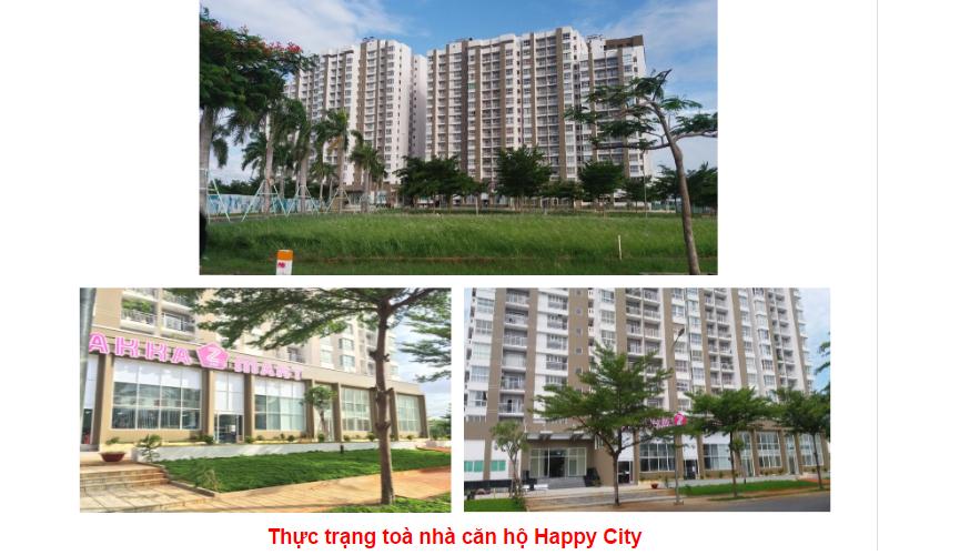 thực trạng căn hộ happy city
